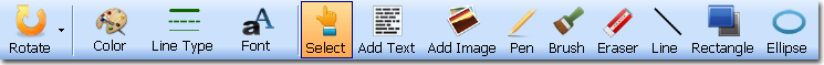 Editor للتحكم ملفات وإضافة إدراج صور، أشكال بوابة 2014,2015 toolbar.png